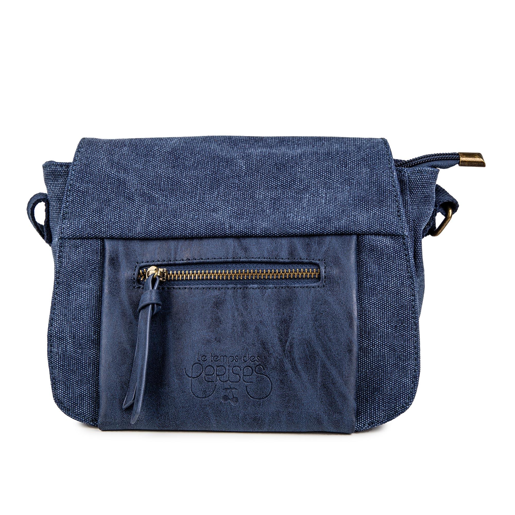 1b652df8214cf ... format pour femme de la marque LE TEMPS DES CERISES à prix dégriffé.  Disponible dans 2 coloris différents : noir et bleu. Sac bandoulière Femme  26670 ...