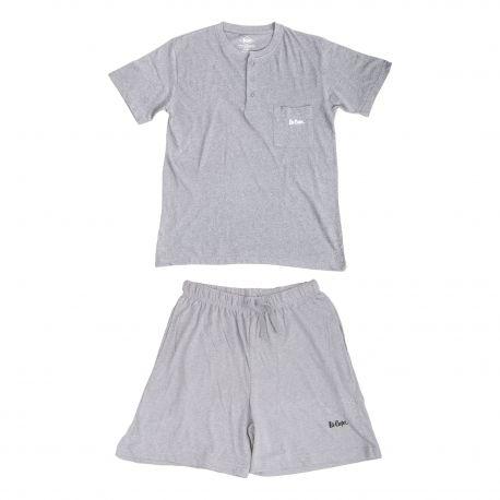 Ensemble pyjama short Homme LEE COOPER marque pas cher prix dégriffés destockage