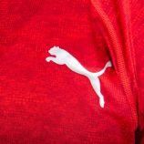 Tee shirt rouge manches courtes 51632702 Homme PUMA marque pas cher prix dégriffés destockage