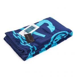 Drap de plage 90x170cm marin turquoise Mixte JEAN LOUIS SCHERRER