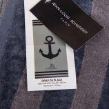 Drap de plage 90x180cm navy anchor  Mixte JEAN LOUIS SCHERRER