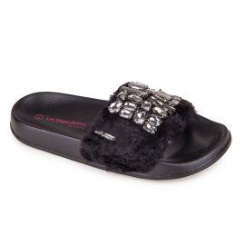 Sandale c12877grisha 36/41 noir Femme LES TROPEZIENNES PAR M.BELARBI