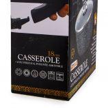 Casserole 18cm induction manche amovible avec couvercle Mixte NAPOLEON