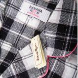Ensemble Pyjama carreaux 2 pièces manches longues Femme BANANA MOON marque pas cher prix dégriffés destockage
