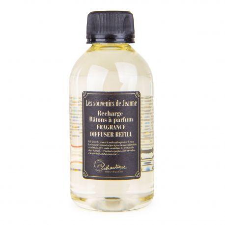 Recharge diffuseur de parfum patchouli violette 200ml Mixte Les souvenirs de Jeanne LOTHANTIQUE marque pas cher prix dégriffé...