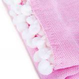 Foutas 90x170cm rose/blanc Mixte SPRING SUMMER marque pas cher prix dégriffés destockage