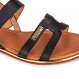 Sandale c20063 helina 36/41 noir Femme LES TROPEZIENNES PAR M.BELARBI