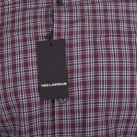 Chemise à carreaux manches longues Homme TED LAPIDUS