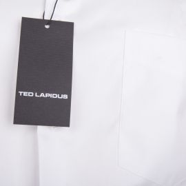 Chemise blanche manches longues Homme TED LAPIDUS
