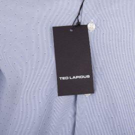 Chemise bleu clair manches longues Homme TED LAPIDUS