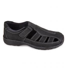 Sandale c07253garry noir 40/45 Homme ROADSIGN marque pas cher prix dégriffés destockage