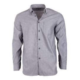 Chemise grise manches longues Homme TED LAPIDUS