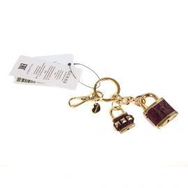 Porte-clés coeur et cadenas Femme GUESS