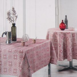 Nappe rectangle 140x250cm maudalina rouge Mixte HARMONIE DU DECOR