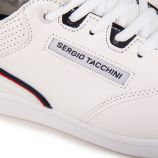 Basket stm818095 white/mary Homme SERGIO TACCHINI